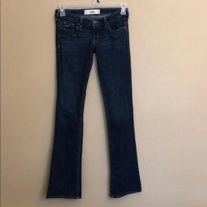 Hollister Jeans Dark Wash Size 1R